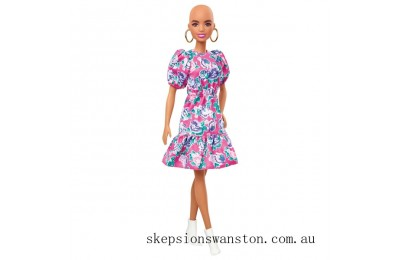 Genuine Barbie Fashionista Doll 150 with Peplum Dress
