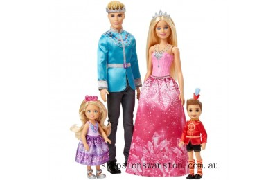 Clearance Barbie Dreamtopia 4 Doll Set