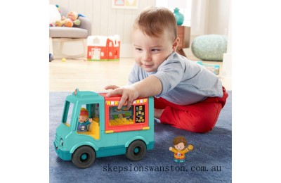 Clearance Fisher-Price Little People Serve It Up Burger Truck