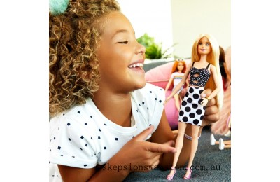 Hot Sale Barbie Fashionista Doll 134 Polka Dots