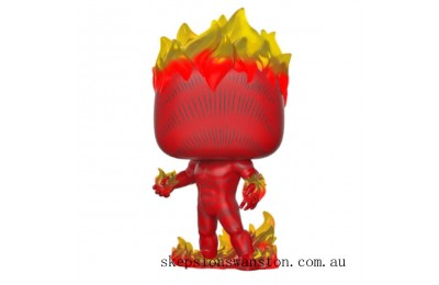Marvel 80th Human Torch Funko Pop! Vinyl Clearance Sale