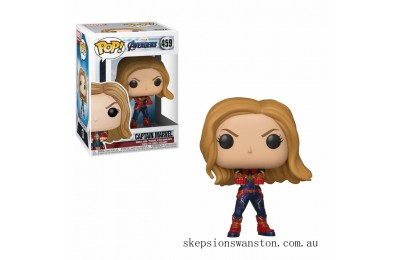 Marvel Avengers: Endgame Captain Marvel Funko Pop! Vinyl Clearance Sale