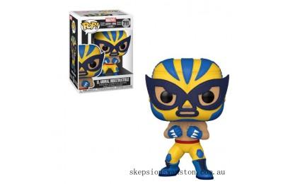 Marvel Luchadores Wolverine Pop! Vinyl Clearance Sale