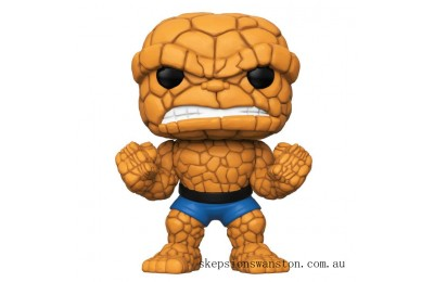 Marvel Fantastic Four The Thing 10-Inch EXC Funko Pop! Vinyl Clearance Sale