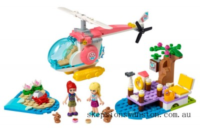 Hot Sale Lego Vet Clinic Rescue Helicopter