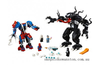 Discounted Lego Spider Mech vs. Venom