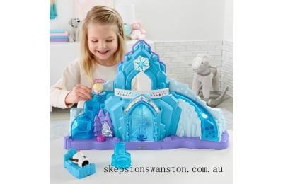 Genuine Fisher-Price Little People Disney Frozen Elsa's Ice Palace