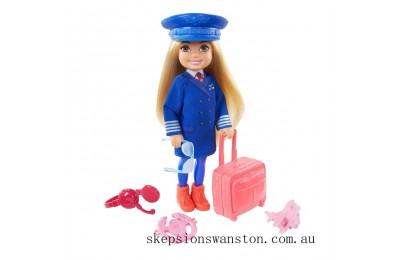 Genuine Barbie Chelsea Career Doll - Pilot