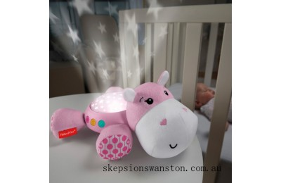 Outlet Sale Fisher-Price Hippo Projection Soother Pink Baby Projector