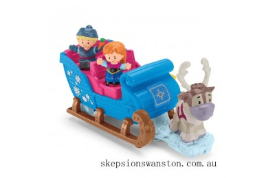 Clearance Fisher-Price Little People Disney Frozen Kristoff's Sleigh