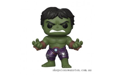 Marvel Avengers Game Hulk (Stark Tech Suit) Funko Pop! Vinyl Clearance Sale