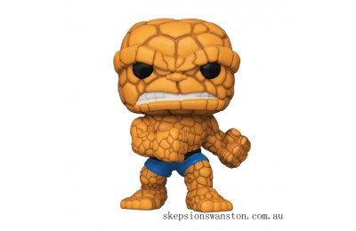 Marvel Fantastic Four The Thing Funko Pop! Vinyl Clearance Sale
