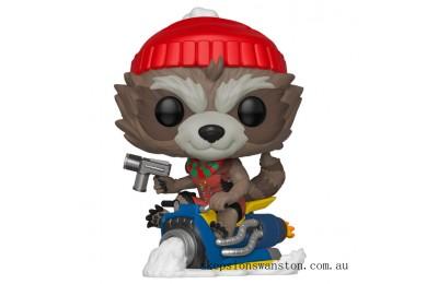 Marvel Holiday Rocket Raccoon Funko Pop! Vinyl Clearance Sale
