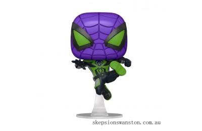 Marvel Spiderman Miles Morales Purple Suit Pop! Vinyl Clearance Sale