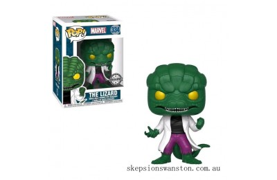 Marvel Comics The Lizard EXC Funko Pop! Vinyl Clearance Sale