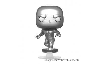 Marvel Fantastic Four Silver Surfer Funko Pop! Vinyl Clearance Sale