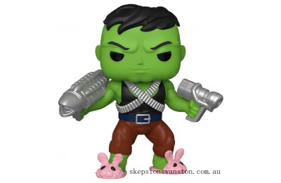 "PX Previews Marvel Professor Hulk 6"" EXC Funko Pop! Vinyl Clearance Sale"