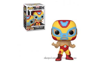 Marvel Luchadores Iron Man Pop! Vinyl Clearance Sale