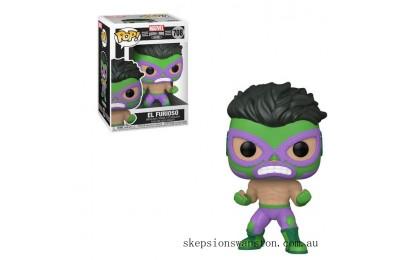 Marvel Luchadores Hulk Pop! Vinyl Clearance Sale