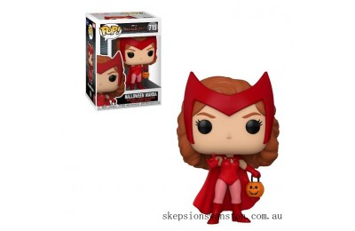 Marvel WandaVision Halloween Wanda Funko Pop! Vinyl Clearance Sale