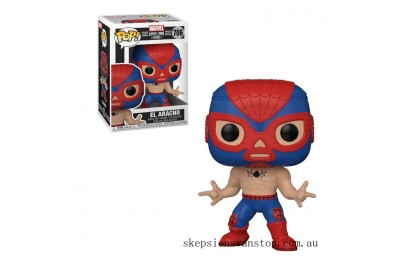 Marvel Luchadores Spider-Man Pop! Vinyl Clearance Sale