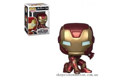 Marvel Avengers Game Iron Man (Stark Tech Suit) Funko Pop! Vinyl Clearance Sale