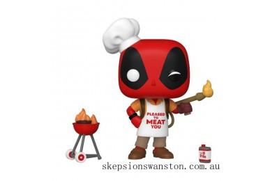 Marvel Deadpool 30th Backyard Griller Deadpool Funko Pop! Vinyl Clearance Sale