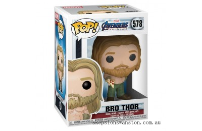 Marvel Avengers: Endgame Thor with Pizza Funko Pop! Vinyl Clearance Sale