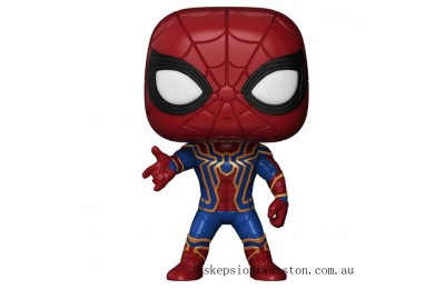 Marvel Avengers Infinity War Iron Spider Funko Pop! Vinyl Clearance Sale
