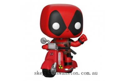 Marvel Deadpool & Scooter Funko Pop! Vinyl Clearance Sale