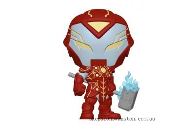 Marvel Infinity Warps Iron Hammer Funko Pop! Vinyl Clearance Sale