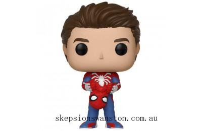 Marvel Spider-Man Gamerverse Unmasked Spider-man Funko Pop! Vinyl Clearance Sale