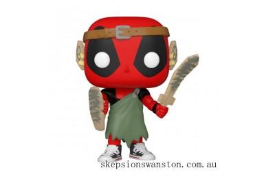 Marvel Deadpool 30th LARP Deadpool Funko Pop! Vinyl Clearance Sale