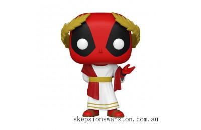 Marvel Deadpool 30th Roman Senator Deadpool Funko Pop! Vinyl Clearance Sale