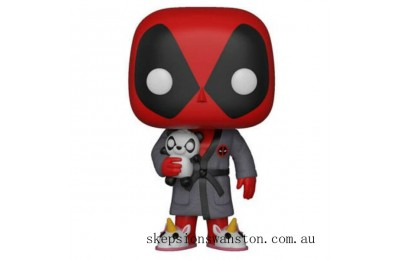 Marvel Deadpool Playtime in Robe Funko Pop! Vinyl Clearance Sale