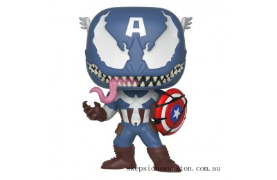 Marvel Venomized Captain America Funko Pop! Vinyl Clearance Sale