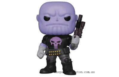 PX Previews Marvel Heroes Punisher Thanos 6-Inch Funko Pop! Vinyl Figure Clearance Sale