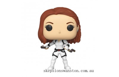 Marvel Black Widow White Suit Funko Pop! Vinyl Clearance Sale