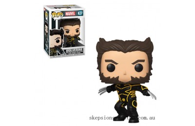 Marvel X-Men 20th Wolverine In Jacket Funko Pop! Vinyl Clearance Sale