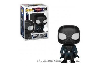Marvel Animated Spider-Man - Spider-Man Noir EXC Funko Pop! Vinyl Clearance Sale