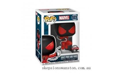 Marvel Spider-Man Scarlet Spider EXC Funko Pop! Vinyl Clearance Sale