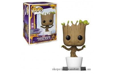 Marvel Dancing Groot 18-Inch Funko Pop! Vinyl Clearance Sale