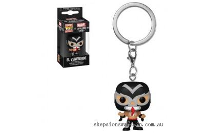 Marvel Luchadores Venom Pop! Keychain Clearance Sale