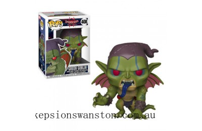 Marvel Spider-Man into the Spiderverse Green Goblin Funko Pop! Vinyl Clearance Sale