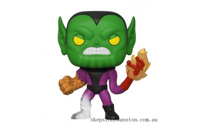 Marvel Fantastic Four Super-Skrull Funko Pop! Vinyl Clearance Sale