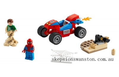 Discounted Lego Spider-Man and Sandman Showdown