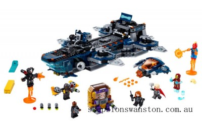 Hot Sale Lego Avengers Helicarrier