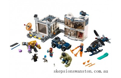 Outlet Sale Lego Avengers Compound Battle