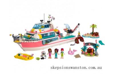 Genuine Lego Rescue Mission Boat