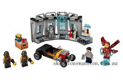 Discounted Lego Iron Man Armory
